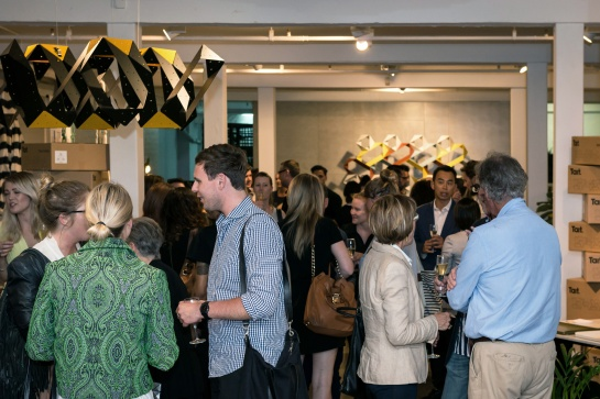 The launch of the Stellar Collection at Tait's Sydney Showroom. Photography Fiona Susanto courtesy of Tait.